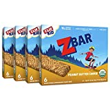 Clif Kid ZBAR - Organic Granola Bars - Peanut Butter Cookie - (1.27 Ounce Energy Bars, Lunch Box Snacks, 24 Count)