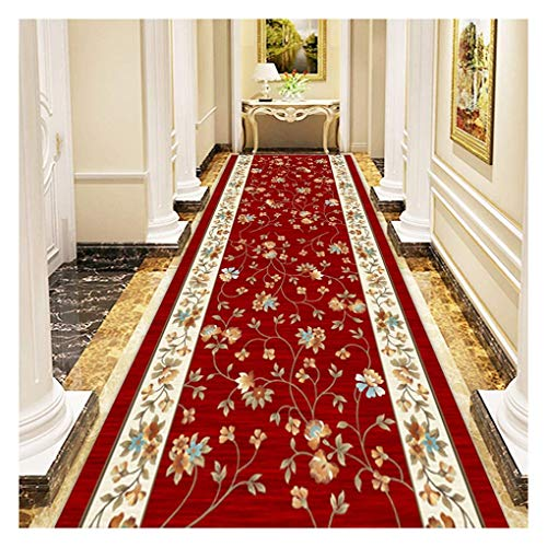 WenFei shop Runner Rugs for Hallway Non-Slip Non Fade Stain Resistant Easy to Clean,Dust-Proof Moisture Area Rugs,Corridor Carpet for Kitchen Living Room Bedroom