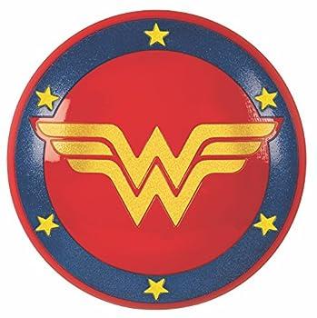 Rubie s DC Super Hero Girls Wonder Woman Shield 12-Inches One Size