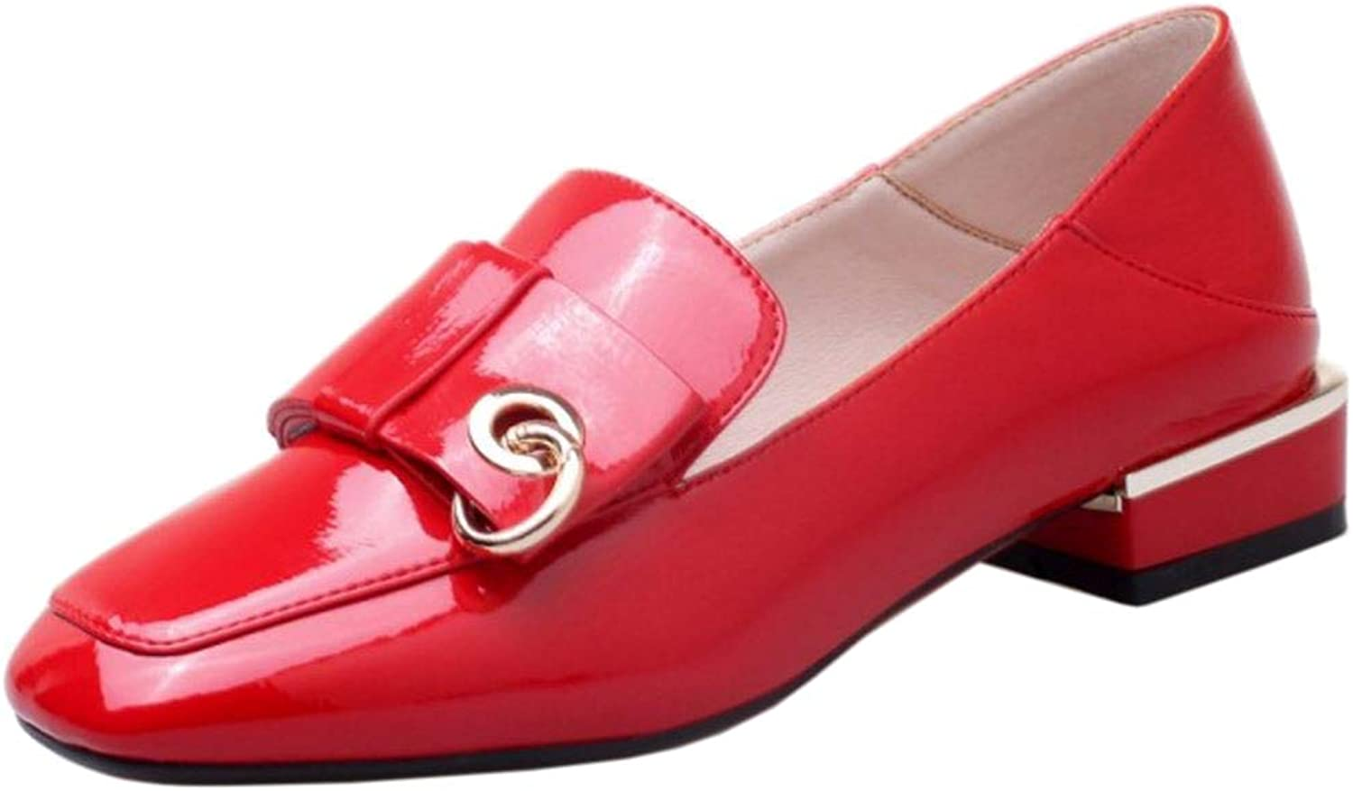 Melady Women Fashion Loafers Flats Pumps Bow