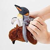 NMJHG Juguete de Peluche de Crecimiento de pingüino Triple Cambio el Proceso de Nacimiento de pingüino Osaka Acuario Muñeco de pingüino Figuras Mutable
