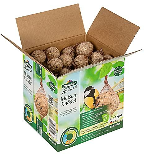 Dehner Natura Wildvogelfutter, Meisenknödel, Bio-Netz, im Karton, 100 Stück (10 kg)