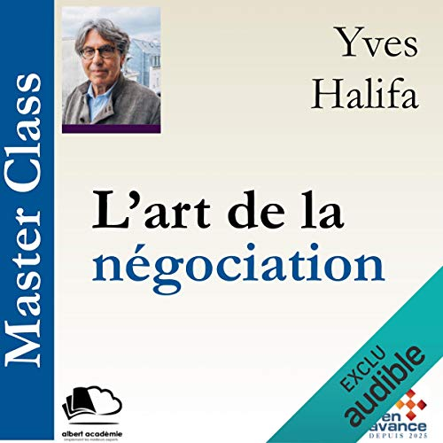 L'art de la négociation audiobook cover art