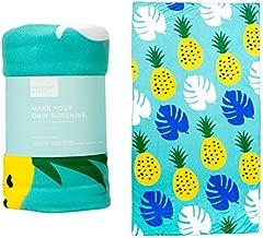 FabFitFun Summer and Rose Oversized Yoga Beach Towel
