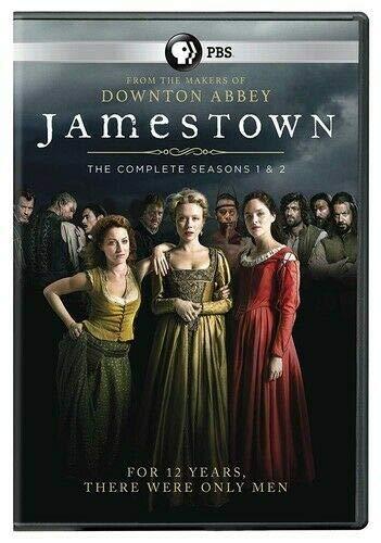 Jamestown Seasons 1 & 2 - 4 DISC SET (DVD New)