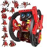 CCCYT Juguete Robot Stem para niños, 12 en 1 Robots Kit de Ciencia Divertido Juego Creativo y DIY Juguetes, Manualidades Regalos para niños de 8 a 14 años, 190 Piezas