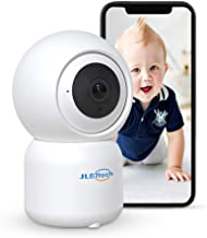 JLB7tech WiFi Baby Monitor,1080P FHD Pan/Tilt/Zoom Remote View Camera with Crying Alerts,Night Vision,2-Way Audio and Sound&Motion Tracking for Baby/Elder/Pet | Compatible with iOS/Android