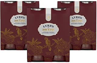 Lyre's Non-Alcoholic Dark & Spicy Ready to Drink - Pack of 12 (3 Packs of 4 X 250mL)