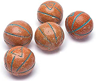 Vidal Basketball Bubble Gum Gumballs - Unwrapped - 2.2 Pound Bag-Sports Themed Candy Gumballs