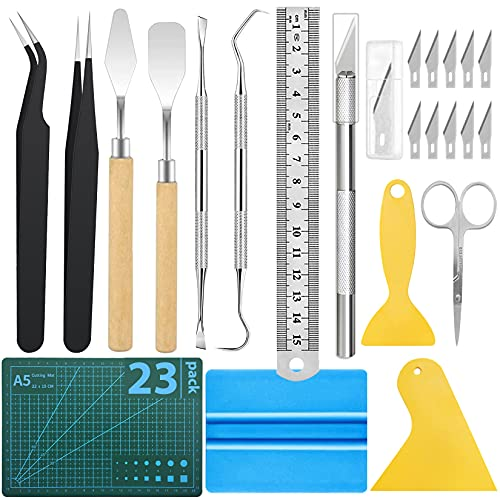 23Pack Weeding Tools for Vinyl Craft Weeding Tools Weeding Craft Tools Set for Weeding Vinyl, Silhouettes, Cameos, Lettering