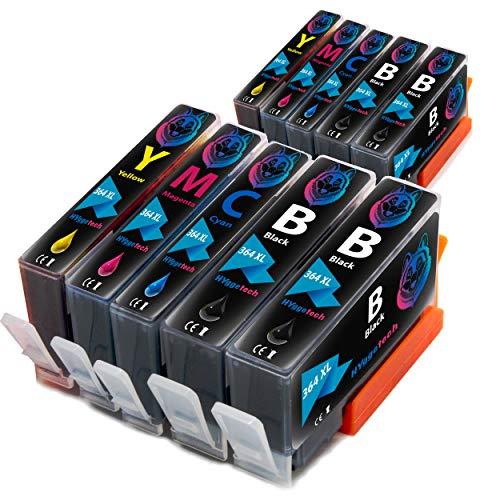 Hyggetech 10x Druckerpatronen als Ersatz für HP 364XL 364 XL für HP Deskject 3520, 3070A Photosmart 5510 5520 5524 7510 7520 6510 6520 5515 b110a b109a Officejet 4620 4622 C5390 C5393 C6324 C6380