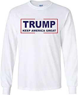 Trump Keep America Great Long Sleeve T-Shirt 2020 Election Republican POTUS Tee