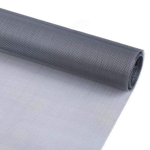 Anti-Mosquito Venster Scherm Mesh Roll, DIY Glasvezel Screen Replacement Mesh Fabric, Mesh Net Insect Barrier, Voor Raam-, Deur- En Patio, Screen Protection, Patio Screens,80x100cm(31x39inch)