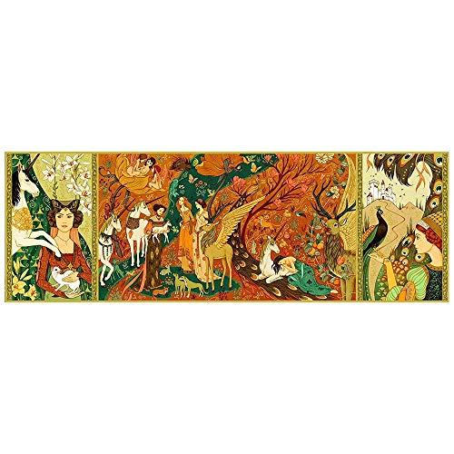 Djeco - Puzzle gallery 500 Pièces - Dames à la licorne