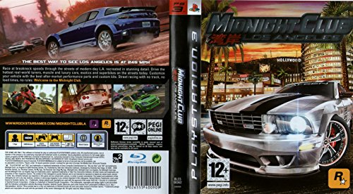 Midnight Club: Los Angeles (Sony PS3) [Import UK]