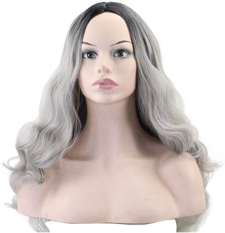 ZHCHL Pink Wig store for Women European Curly Ladies Albuquerque Mall Long and Hair