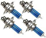 AERZETIX: 4 x Bombillas H4 12V 100W con efecto...