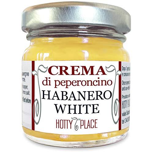 Crema HABANERO WHITE Peperoncino Piccante MEDIO, sapore delicato e fresco 30g