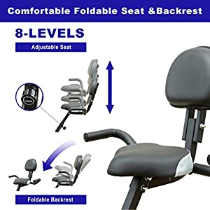 Movement God Exercise Bike Indoor Cycling Fitness Folding Bike for Home Workout