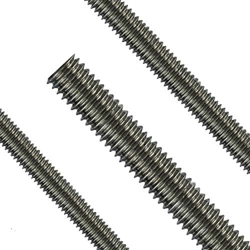 Gewindestange M12 Edelstahl V2A DIN 975/976 Gewindebolzen Gewindestab Gewindespindel Trapezspindel Trapezgewindespindel 1 Stück - 1 Meter Falk-Schrauben