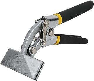 SANON Sheet Metal Tools, Metal Sheet Bending Pliers, Manual Sheet Metal Clamp Seamer Non-Slip Handle Seaming Pliers