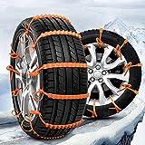 10 PCS Nylon Anti-Skid Catene per Neve Catene di Emergenza a Trazione Portatile Per Camion SUV Emergenza Guida Invernale