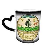 Vermont State Seal State - Taza de café con cambio de color