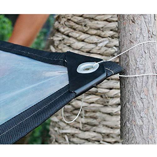 MDCG Chiaro Teloni Esterno Impermeabile Panno di Plastica Balcone Giardinaggio Pioggia delle Piante A Prova di Vento Isolamento Umidificazione Posto Auto Coperto (Color : Chiaro, Size : 2x3m)