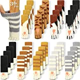 36 Pieces (9 Sets) Cat Furniture Socks Cat Paw Chair Leg Socks...