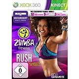 Zumba fitness : rush (jeu Kinect) [import allemand] [Importación francesa]