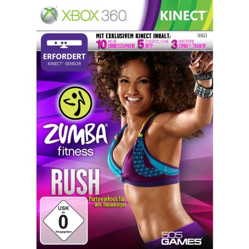 505 Games Zumba Fitness 2 Rush - Juego (Xbox 360, Dance, Zumba Fitness)