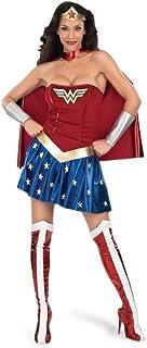 Wonder Woman - Sexy Halloween Fancy Dress Costume - Adults