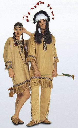 Burda 5815 Schnittmuster Kostüm Karneval Fasching Indiane (Damen & Herren, Gr. 38-54) – Level 2 leicht