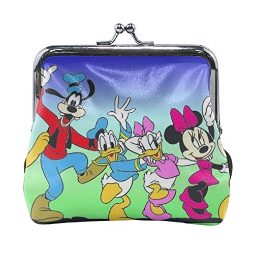 Buckle Coin Purses Cartoon Pouch -Lock Change Purse Wallets