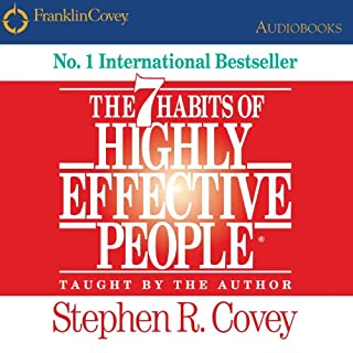 The 7 Habits of Highly Effective People audiobook cover art