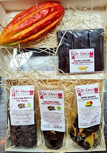 Drchocs Organic Dark Chocolate Hamper