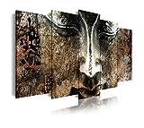 DekoArte 408 - Cuadros Modernos Impresión de Imagen Artística Digitalizada | Lienzo...