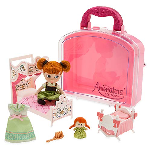 Disney Animators' Collection Anna Mini Doll Play Set