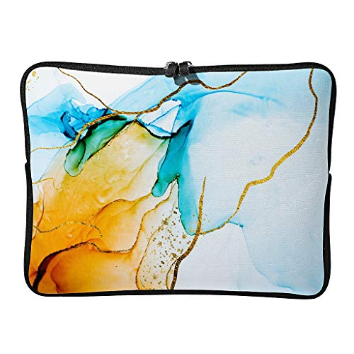 Laptop bags marbling classic normal waterproof - pattern laptop briefcase suitable for work
