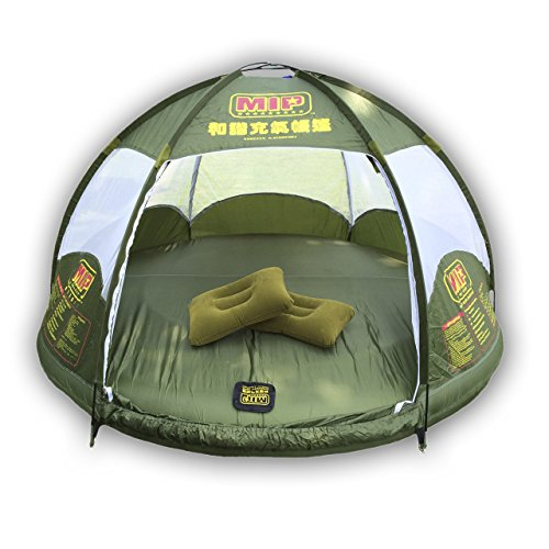 MIPSPORT , Inflatable Family Tent 4 Person Large Space, Waterproof for Outdoor Camping Car Travel with Zippered Door and Inflatable Bladder, Water Floating and Anti Snake.