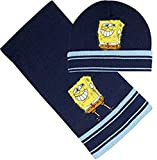 SpongeBob Winterset (Mütze,Schal) N42242 Kinder Mützenset