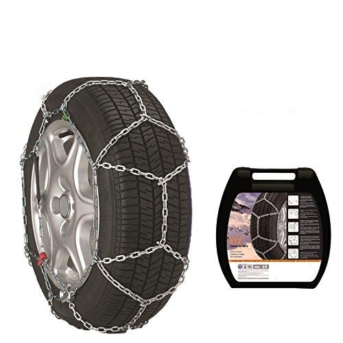 Thule Schneeketten E12 für 16 Zoll Reifen mit eine Kettenstärke von 12 mm (215/55 R16)