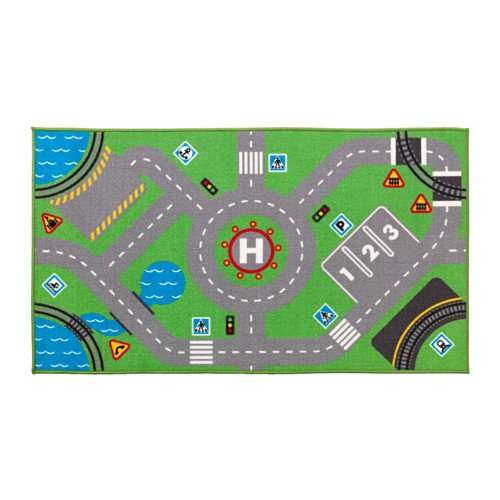 Ikea 703.568.22 Spielteppich STORABO-Rutschfester Teppich für das Kinderzimmer