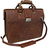 Leather Doctor's Carriage Bag (#1842-4)