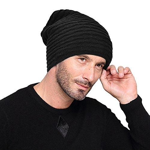 VBIGER Wintermütze Strickmütze Warme Beanie Winter Mütze Fleecefutter für Damen und Herren