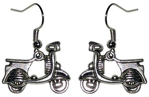 Ohrringe, Motorroller