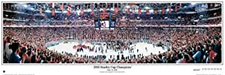 Everlasting Images Carolina Hurricanes 2006 Stanley Cup Champions Stadium Panoramic Print (You Choose Frame and mat Color)