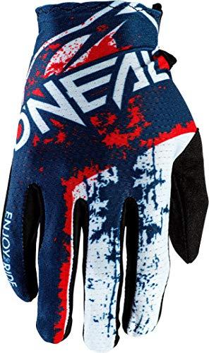 Oneal 0391-529 Handschuhe, Erwachsene, Unisex, Blau/Rot, M