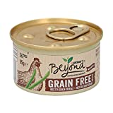 Purina Beyond Cat Grain Free Pollo 12X85 GR, Negro, Estandar