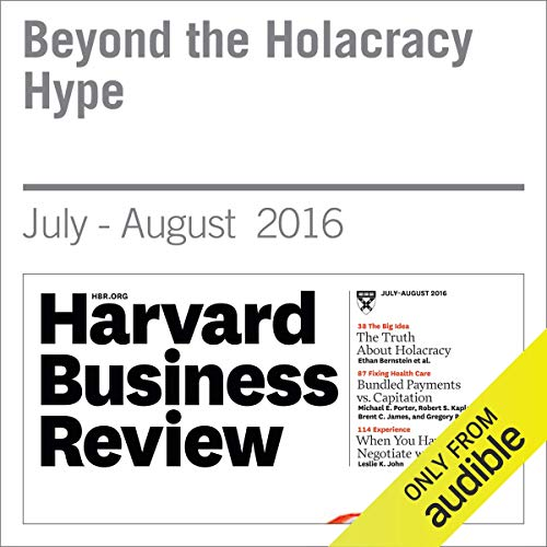Beyond the Holacracy Hype copertina